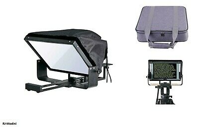 """12"""" Adjustable Teleprompter for 10"""" Tablet-iPad-Smartphone.Strong & High-quality"""