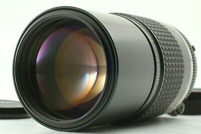 【MINT】 Nikon NIkkor AI-S 200mm f/4 Telephoto for Nikon F Mt. SLR from JAPAN 692