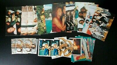 Job lot Spice Girls photos x13 and stickers - Fab Five x6, Spice World x7