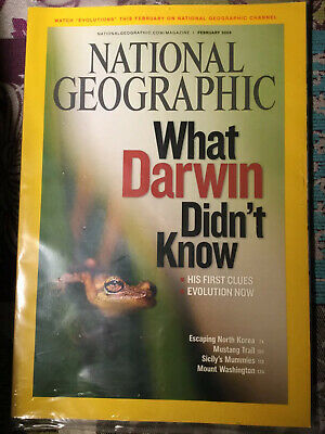 National Geographic February 2009 What Darwin Didn't Know New Sealed