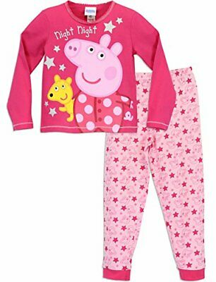 Peppa Pig Girls Peppa Pig Pyjamas Night Night Peppa Age 2 to 3 Years