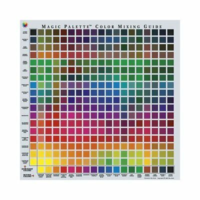 magic palette colour mixing guide 11.5 inch