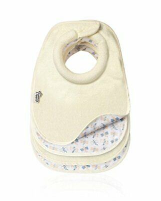 Tommee Tippee Closer to Nature 46353050 Pack of 4 x Cream Milk Dribble Catcher F