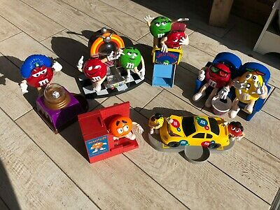 M&M Candy Dispensers Bundle/Lot of (6)