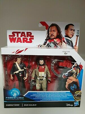 STAR WARS ROGUE ONE figurine CHIRRUT & BAZE MALBUS star wars lucas film Disney