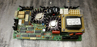 Nordson 183837 Main Control Board Removed from 3500 Hot Melt.   shelf q1 blue