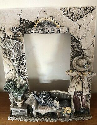 Latex Mould for making this AMAZING Detailed Garden Themed Photo Frame