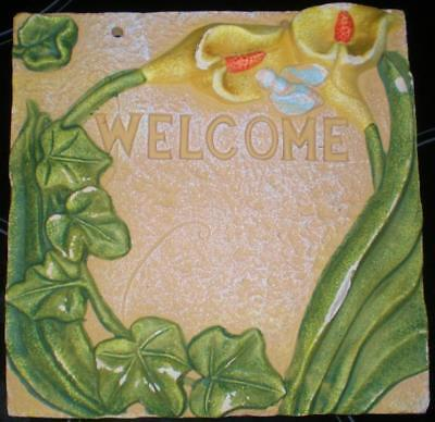 Latex Mould for making this lovely welcome plaque