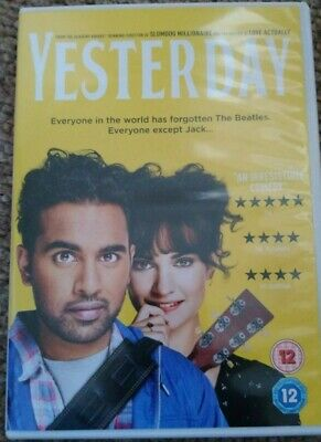 Yesterday Dvd Watched Once As New
