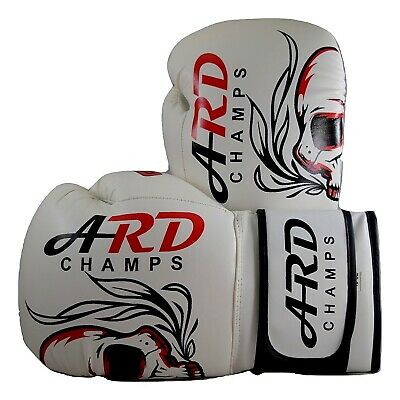 Ard Leather Boxing Mma Muay Thai Kick Boxing Punch Training Sparring Gloves Mma