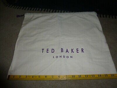 Ted Baker Dust Bag VG condition 16  inc by 14 inch