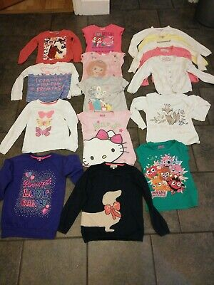 Girls tops clothes bundle 6-7 Years