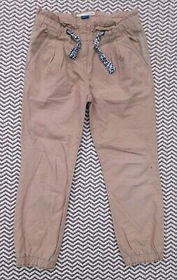 River Island Girls Tan Chinos Age 6