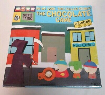 BOARD GAME - New & Sealed South Park Oh My God! They Killed Kenny Chocolate Game