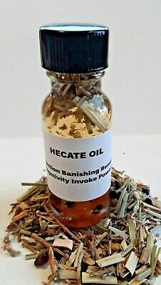 Hecate Oil Ritual Oil Protection Oil Banish Remove Negativity Power Wicca  Pagan