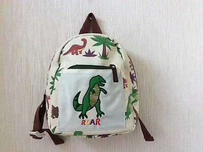 """Pink Lining"" Child's Dinosaur Backpack Vgc Bnwots"
