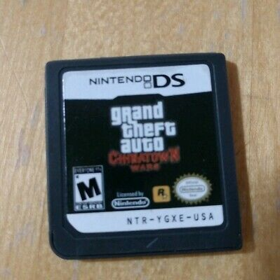 Grand Theft Auto: Chinatown Wars Nintendo DS Game Cartridge for 3DS/DS/2DS