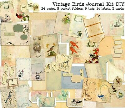 Mega Botanical Junk Journal DIY Kit Journal EZ-7089 Junk Journal