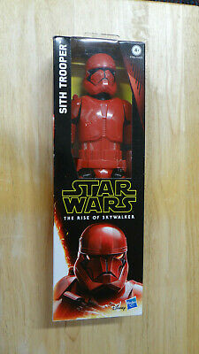 Star Wars The Rise Of Skywalker Sith Trooper 12 Inch Action Figure New