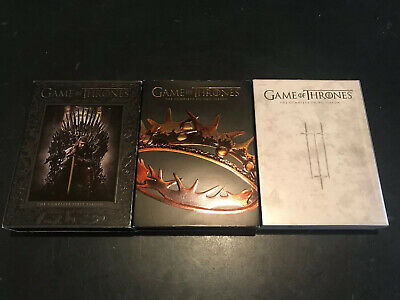 Game of Thrones Season 1-3 DVD