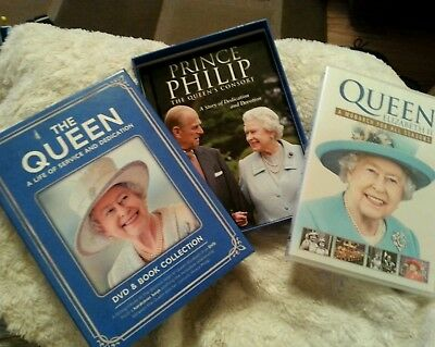 The Queen . Dvd / book collection