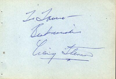 CRAIG STEVENS Autograph, nicely signed on album page
