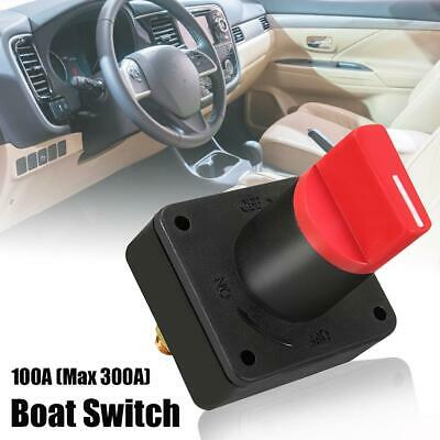 300A Car Van Boat Battery Isolator Master Disconnect Power Cut Off Kill Switch
