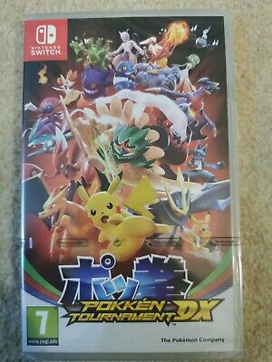 Pokken Tournament DX Nintendo Switch Pokemon Pikachu Game Ages 7. Brand new