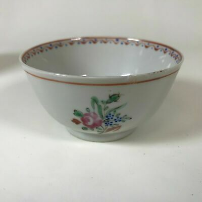 18th Century Chinese Export Porcelain Cup Bowl #4