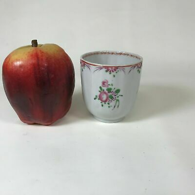 18th Century Chinese Export Porcelain Demitasses Cup