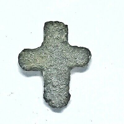 500-1000AD Norse Viking Or Crusader Icon Relic Artifact Authentic Medieval Cross