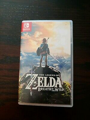 Legend of Zelda: Breath of the Wild (Nintendo Switch, 2017) Special Edition Case