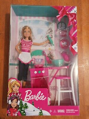 Barbie Christmas Cooking Set