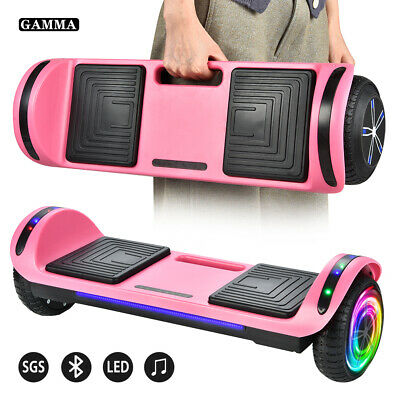 "6.5"" Hoverboard Bluetooth LED Electric Self Balance Scooter noBag Birthday Gift"