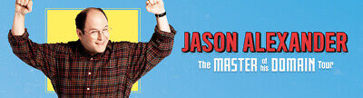 "Jason Alexander ""Master of His Domain"" 2x Tickets, Crown Melbourne Friday14/2/20"