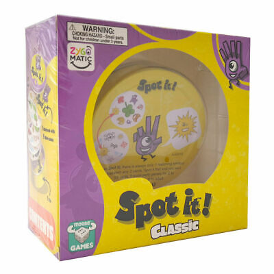 Spot It! Classic Card Game NEW