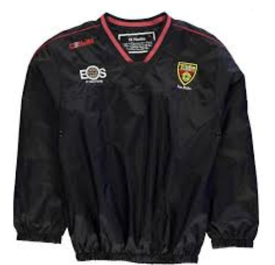 O'Neills Down Storm Windcheater Jacket Boys Black Red OTH Size 9-10 Years *REF54