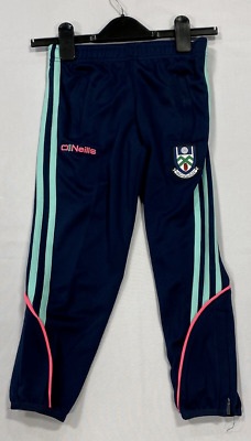 Oneills Muineachan Tracksuit Bottoms Navy Girls Size UK 13-14yrs *REF56