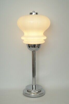 Retro Vintage Seventies Type Deco Table Lamp Unique Chrome Table Lamp Lamp