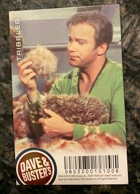 Dave and Buster's Star Trek Tribbles Non-Holo/Non-Foil Rare Card - FREE SHIPPING