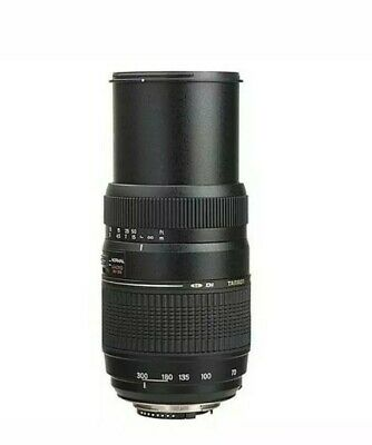 Tamron AF 70-300mm F/4-5.6 Di LD Macro Lens for Nikon - Black  5 years warranty
