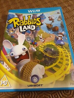Nintendo Wii U Game ~ Rabbids Land