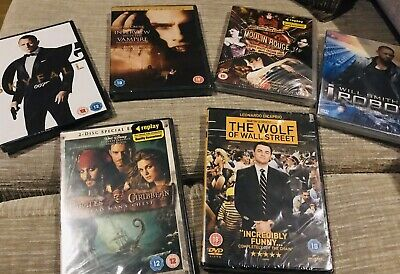 Dvd Bundle All New In Wrappers