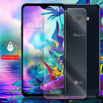 High Responsivity  Real Premium Tempered Glass Screen Protector for LG G8X ThinQ