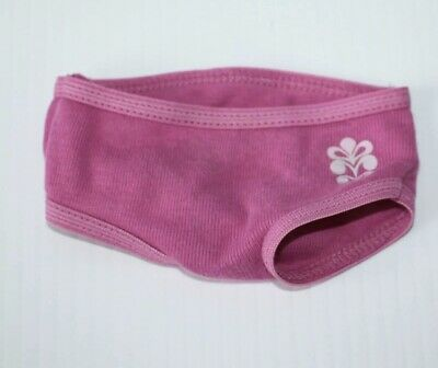 Brand New Retired American Girl Chrissa Cotton Underwear Pantie From Meet Outfit