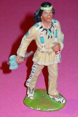 "KARL MAY -  "" WINNETOU ""  - FRIEDEL ( ELASTOLIN ) - FILM - FIGUR 12 cm  (1)"