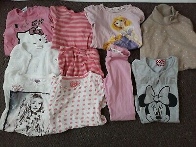Girls age 6 7 & 8 years leggings, tops, t-shirts, jumper, Next PJs Hello Kitty