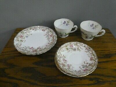 Vintage Mismatched China Saucers, Plates, Tea Cups, Afternoon Tea Party, Wedding