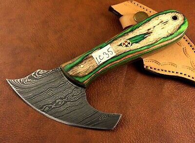 Handmade Damascus Steel Leather Skiver-Leather Cutter-Edge Skiving Tool-LC35