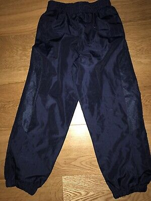 Waterproof Over Trousers Rain Children Boys & Girls Childs age 7-8years Navy